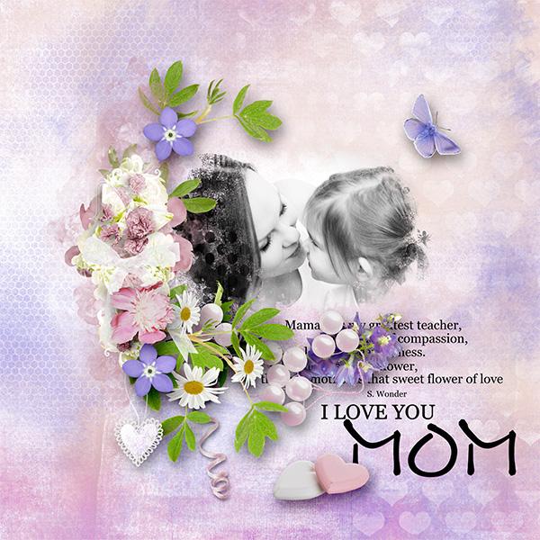 *Mom and me*