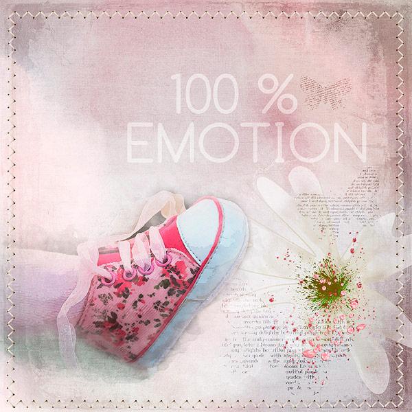 100 % emotion
