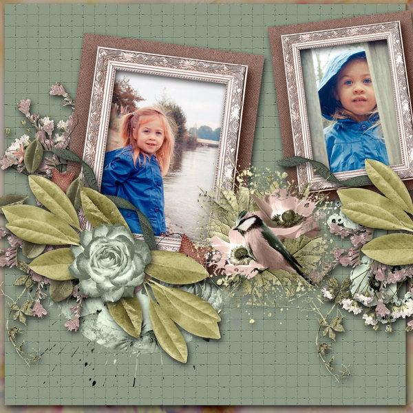2 cute (Angelique) - Layout 1 (Twin_Kati)
