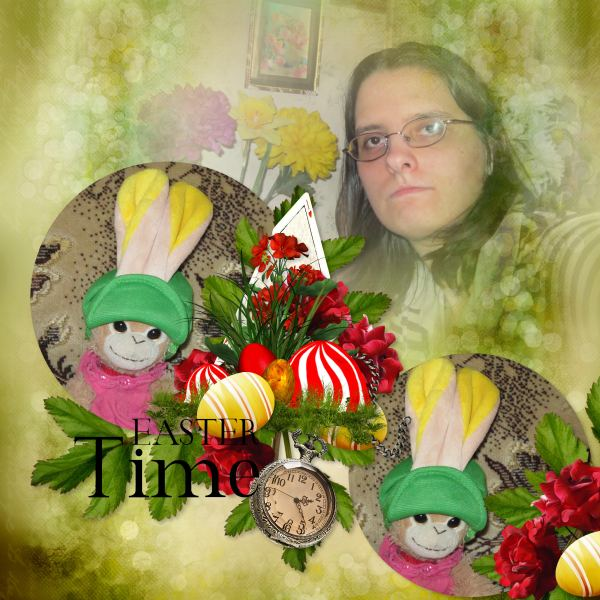 Easter to Wonderland (Kittyscrap) - Layout 1 (Twin_Tina)