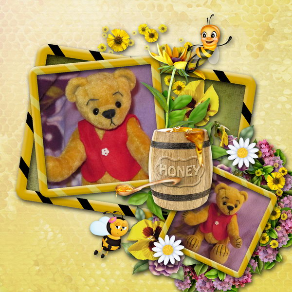 Honey (Bee) - Layout 1 (Twin_Kati)