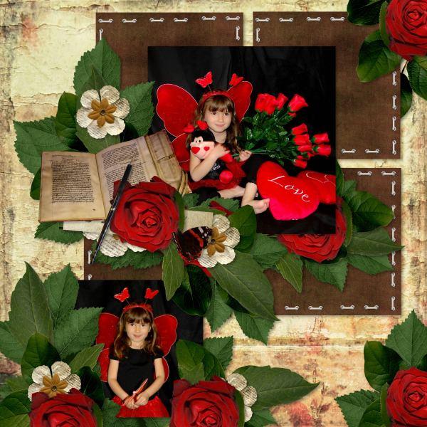 Vintage Amor (Love Crea) - Layout 1 (Twin_Tina)
