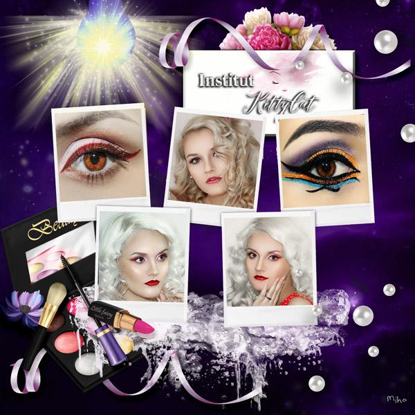 """""""Beauty Artist"""" de Kitty Scrap"""