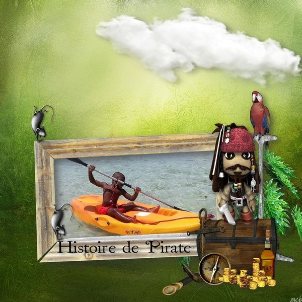 My little pirate by LouiseL