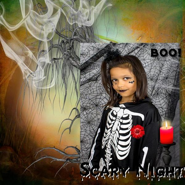 """""""Scary night"""" by LouiseL"""