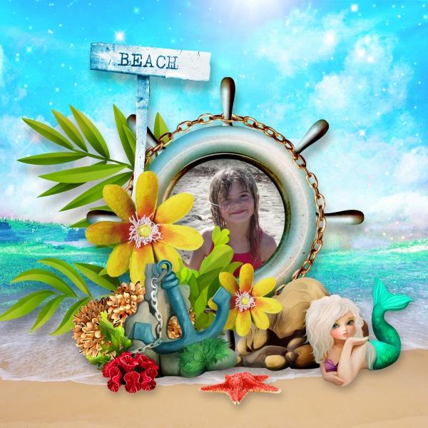 Mermaid Island de Kastagnette