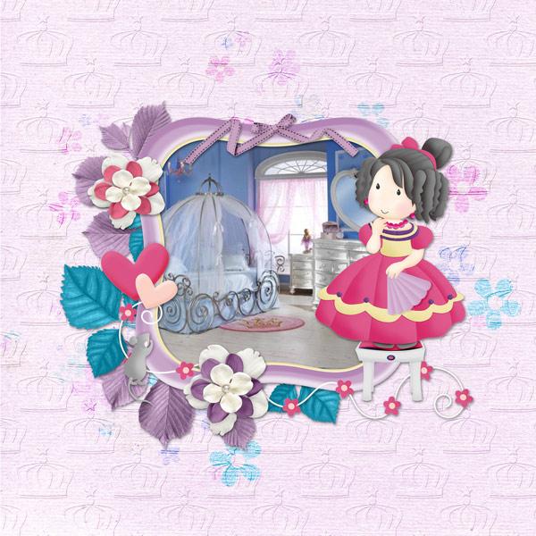 My Cinderella room