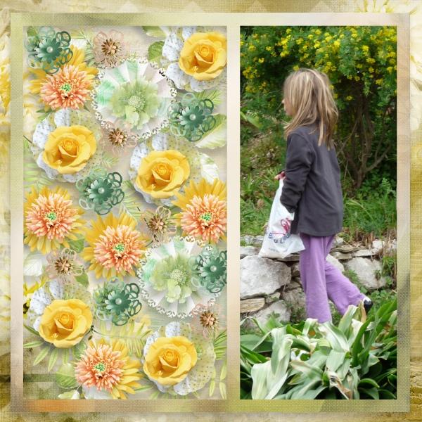 Pack Templates Flowers Power Part 1 d