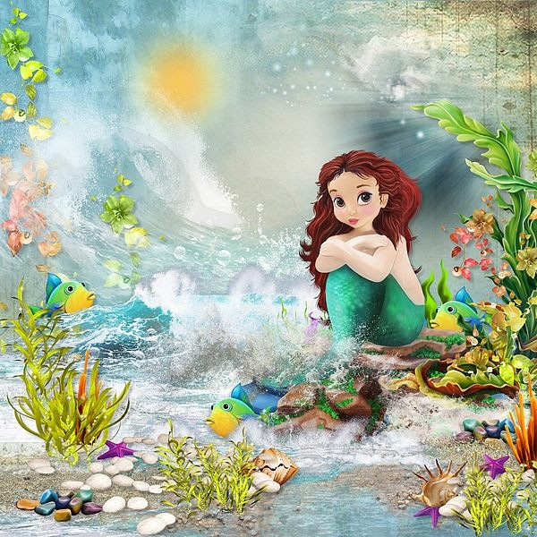 Once Upon a Time a Little Mermaid