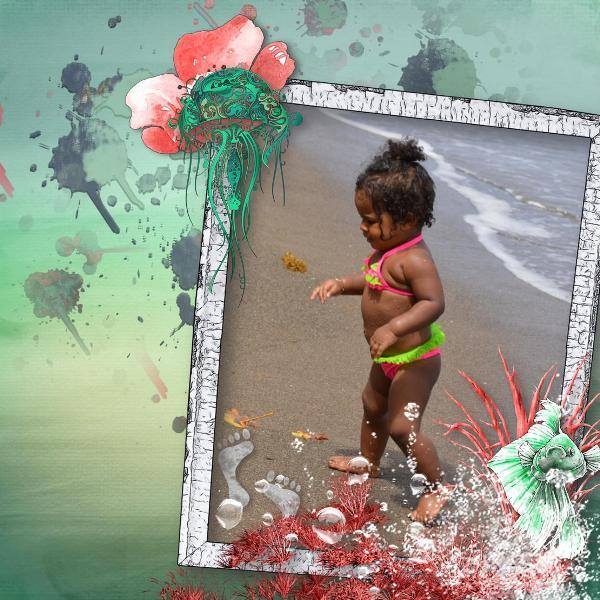 """Ocean love"" by PerlineD"