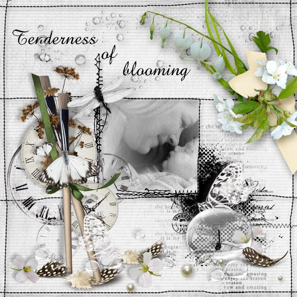 Tenderness of blooming