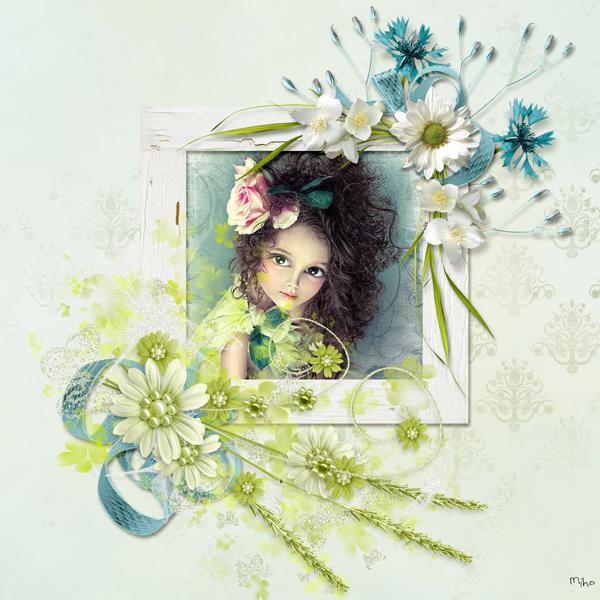 """""""Summer Blues"""" de Vanessa's Creations"""