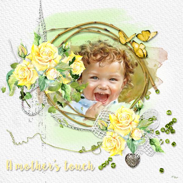 """A Mother's Touch"" de VanillaM Designs"