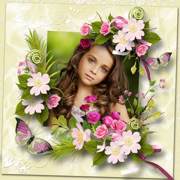 Rose Perlée