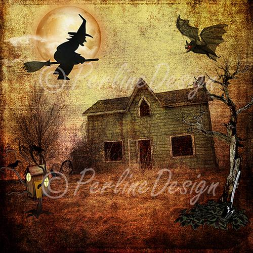 CU Halloween Scenic Papers