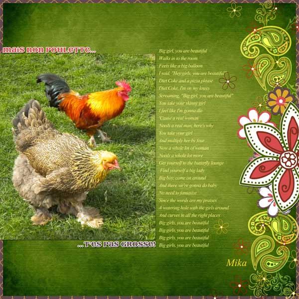 Grosse Poulette