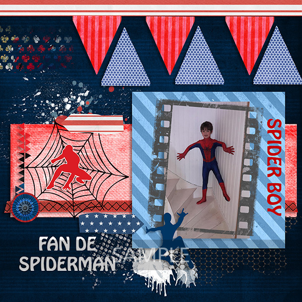 Spider Boy by PerlineDesign