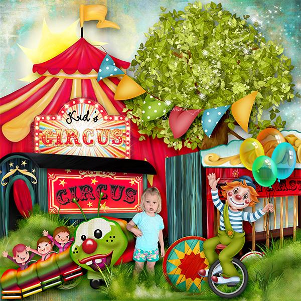* Balade au Cirque*