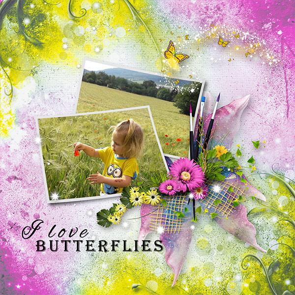 *Au pays des papillon*