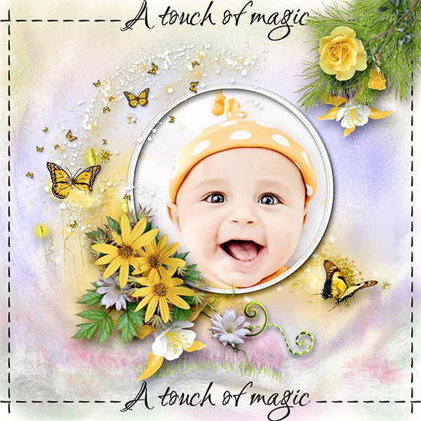 * A touch of magic*