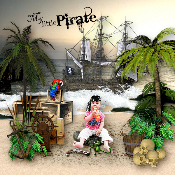 *My little pirate*