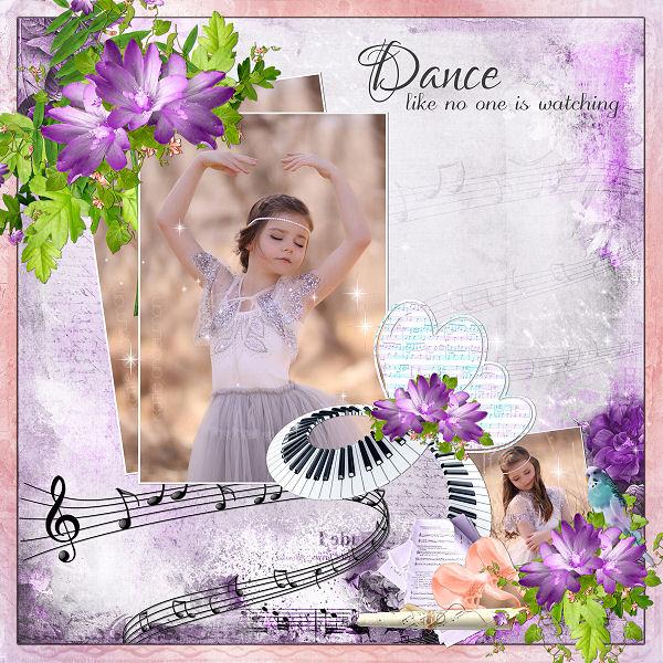 L amour de la danse