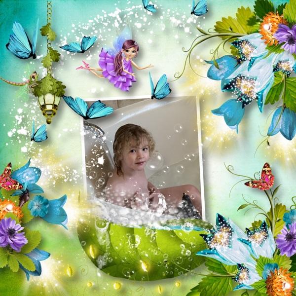 Bath in the forest Aliya