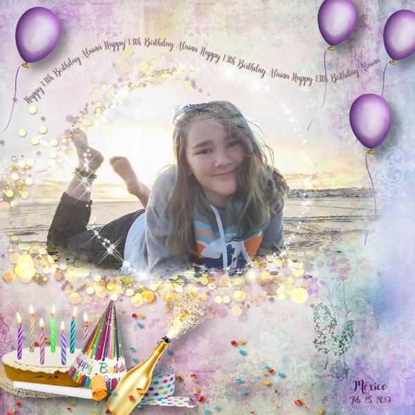 It's My Birthday Party Alaina