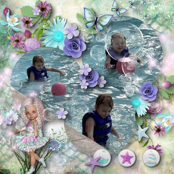 Fun in the Sun Water park Maya b-day 3