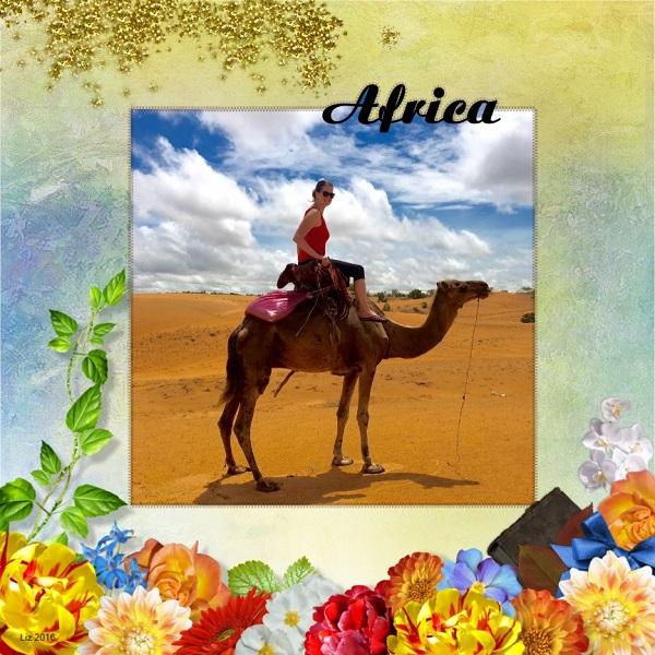 Liz in Africa