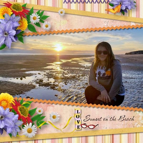 Pour Alaina Sunset