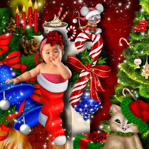 Père Noël arrive ce soir 01
