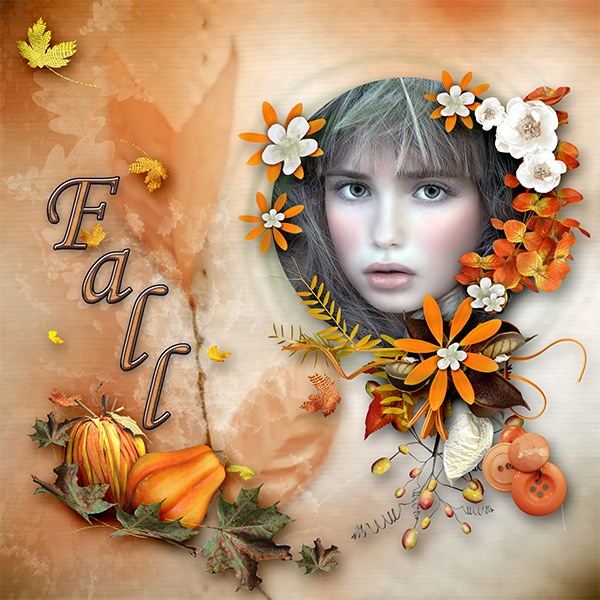 *Flowered Fall*