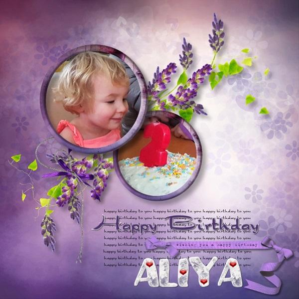 Aliya is 2