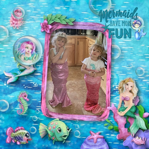 King of the Sea Lil Mermaids