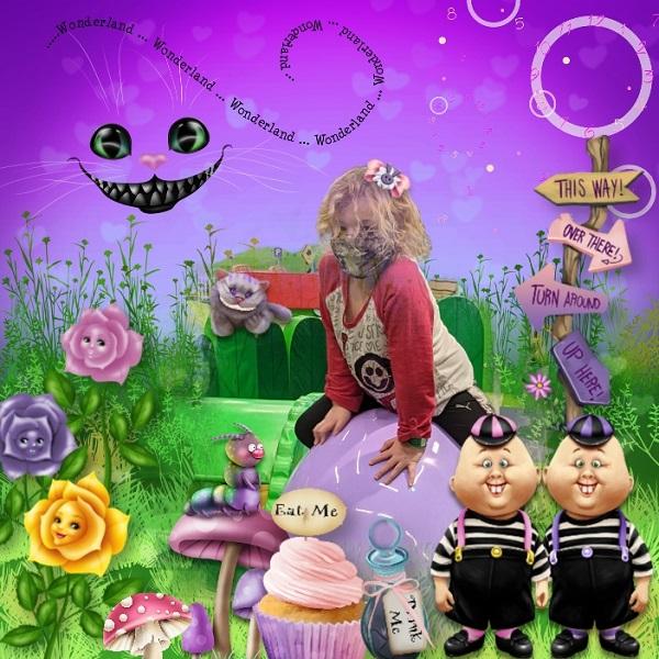 Pink Wonderland Aliya
