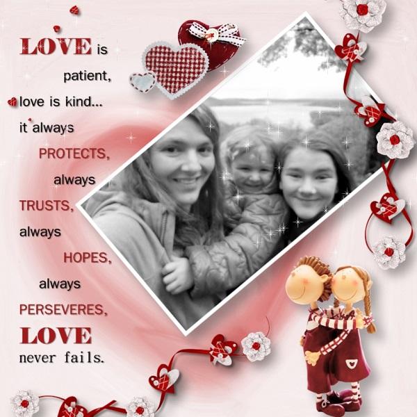 True love Mom & Daughters