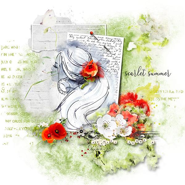 *Scarlet summer*