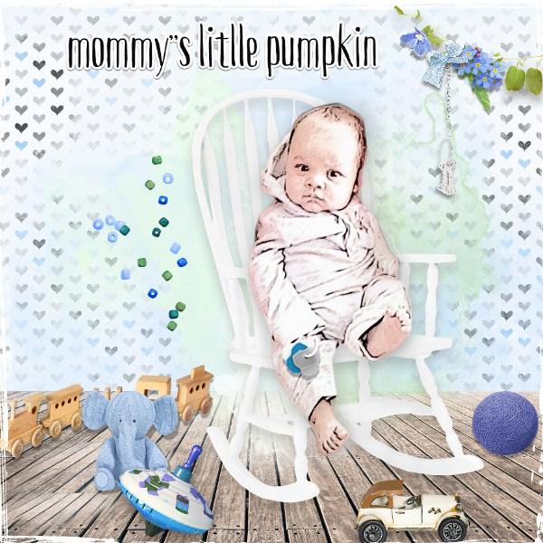 Mommy's little pumpkin