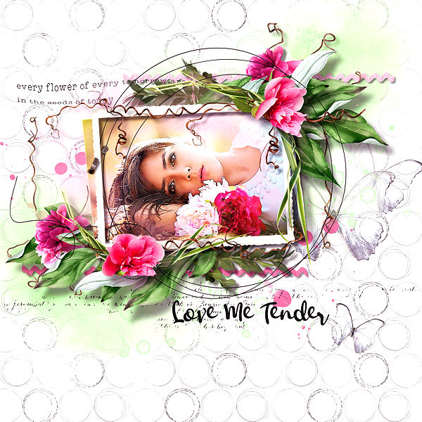Love me tender by VanillaM Design