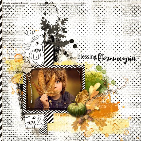 Autumn spice by VanillaM Designs