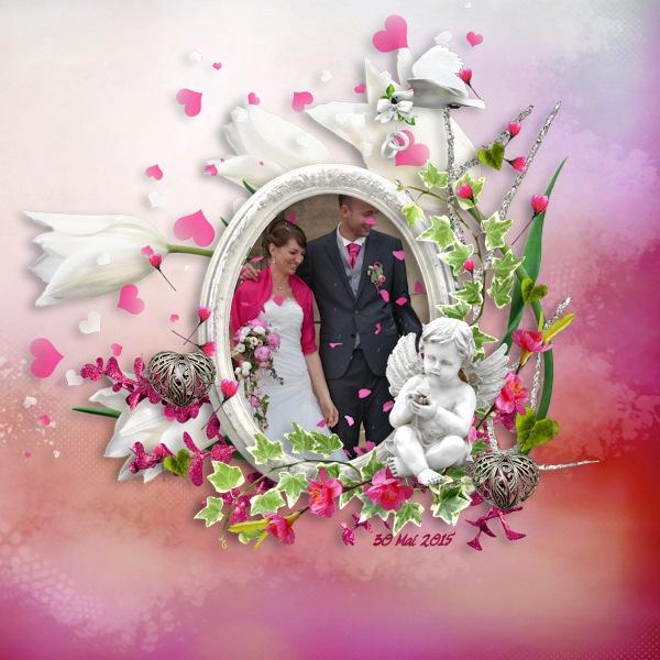 Mariage fushia