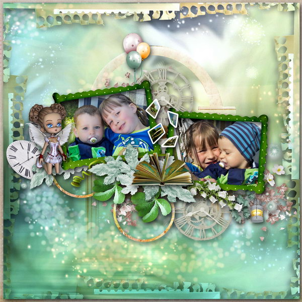 Fairy Travel (Maguette) - Layout 2 (Twin_Kati)