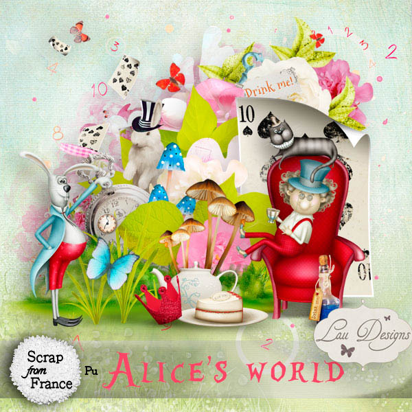 Alice's World by Lau designs