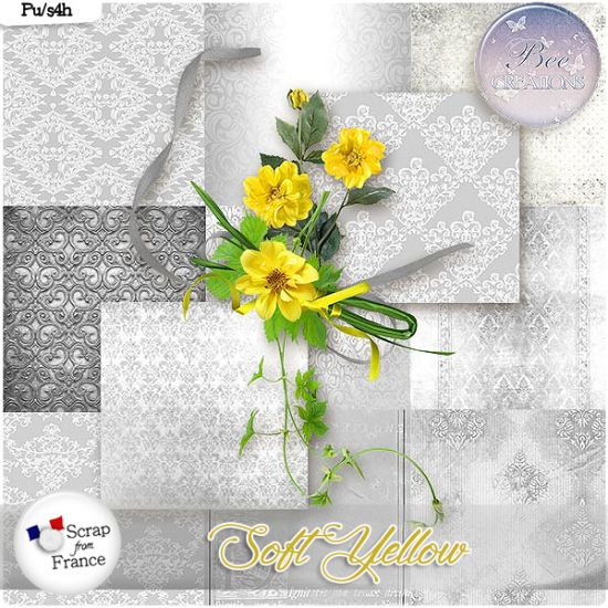 Soft Yellow (PU/S4H) by Bee Creation - CLiquez sur l'image pour la fermer