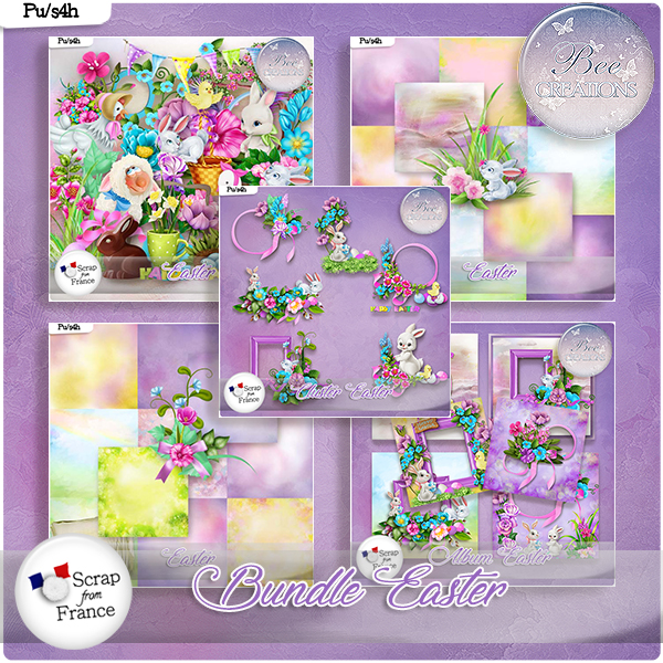 Easter Bundle (PU/S4H) by Bee Creation