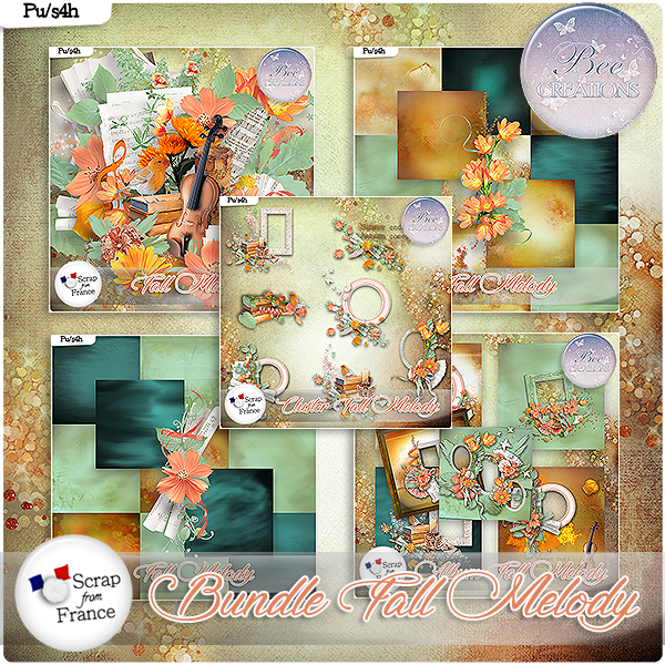 Fall Melody Bundle (PU/S4H) by Bee Creation
