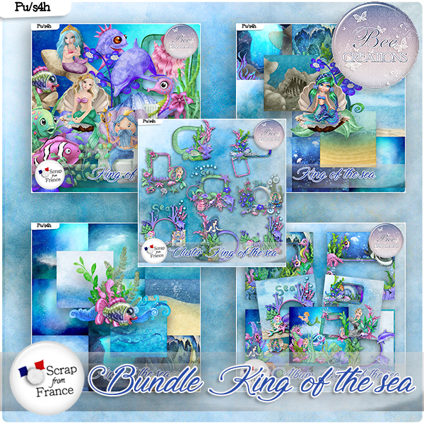 King of the sea Bundle (PU/S4H) by Bee Creation