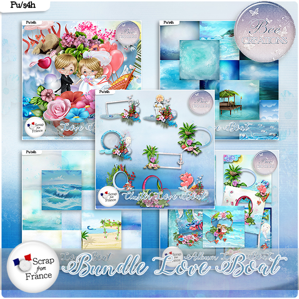 Love Boat Bundle (PU/S4H) by Bee Creation