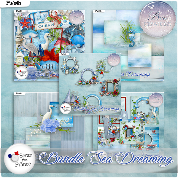 Sea Dreaming Bundle (PU/S4H) by Bee Creation